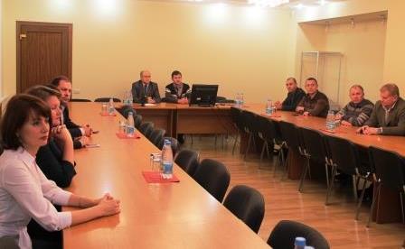 Вручение специалистам резерва управленческих кадров Астраханской области удостоверений о повышении квалификации