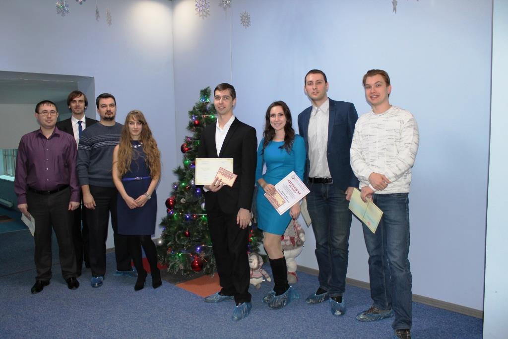 Вручение сертификатов о повышении квалификации специалистам молодежного (перспективного) резерва управленческих кадров
